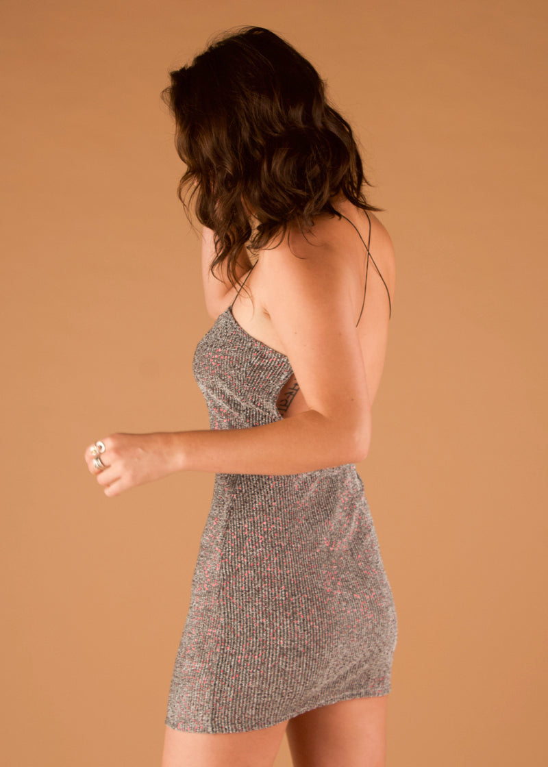 Constance Sparkle Slip Dress