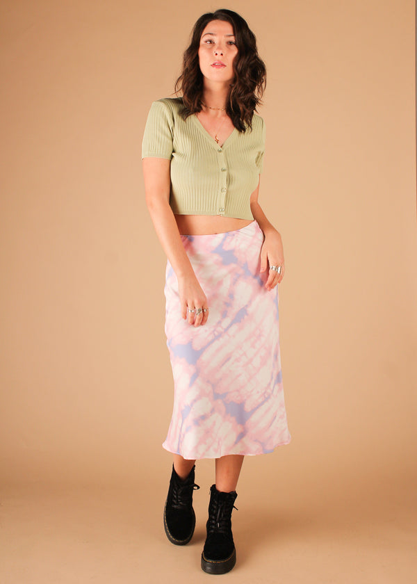 Whip It Tie Dye Skirt