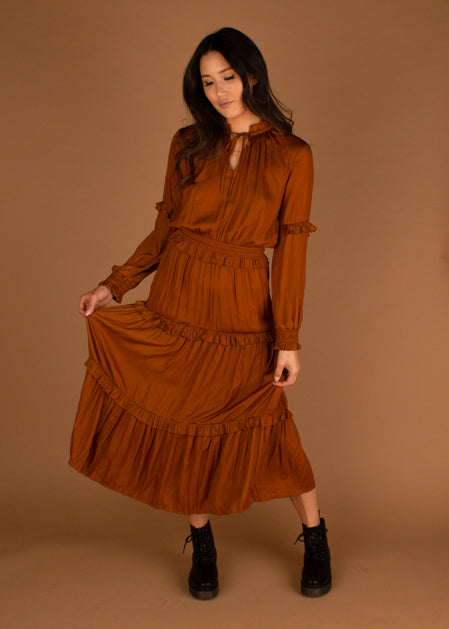 Amber Waves Maxi Dress