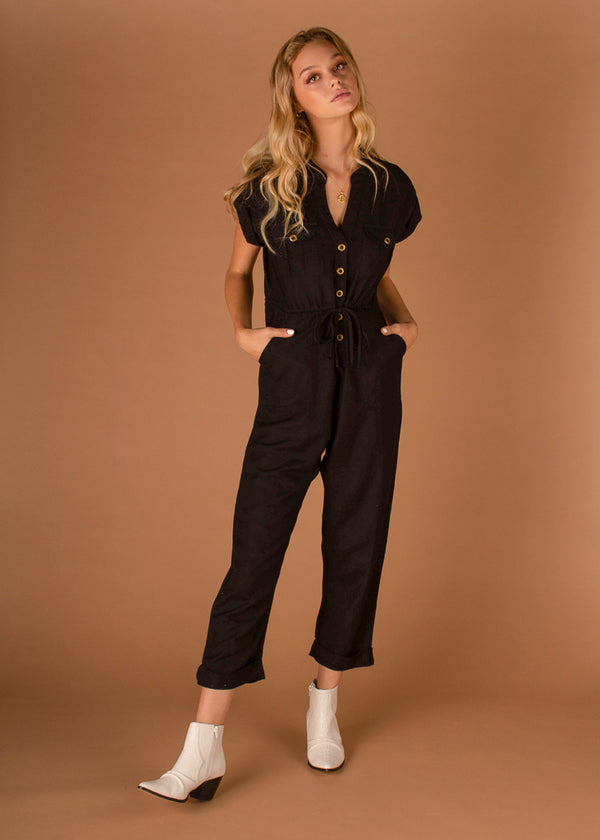 Adventure Jumpsuit Black