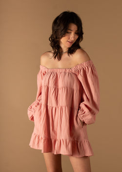 Beloved Ruffle Babydoll Dress