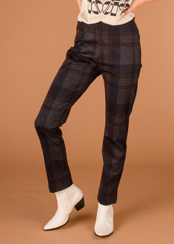 Nob Hill Plaid Trouser