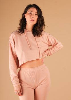 Hypnotized Sweatshirt Top Rose