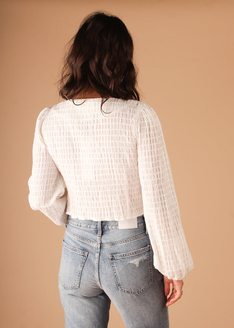 Fall For You Blouse - Off White