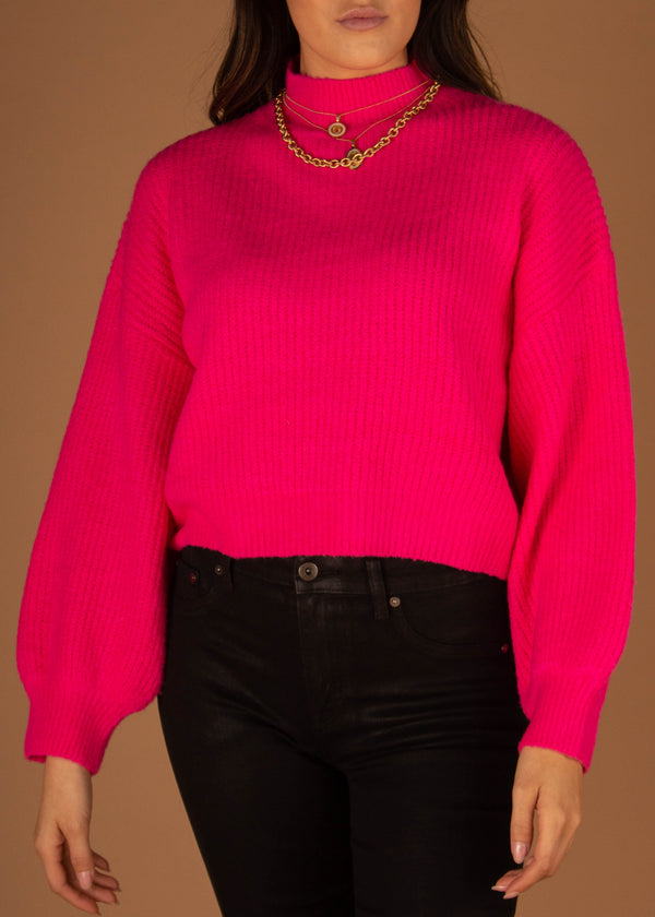 Hot Pink Ruby Sweater