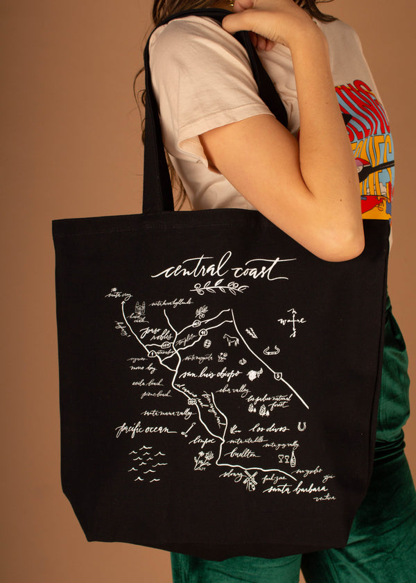Central Coast Market Tote Bag