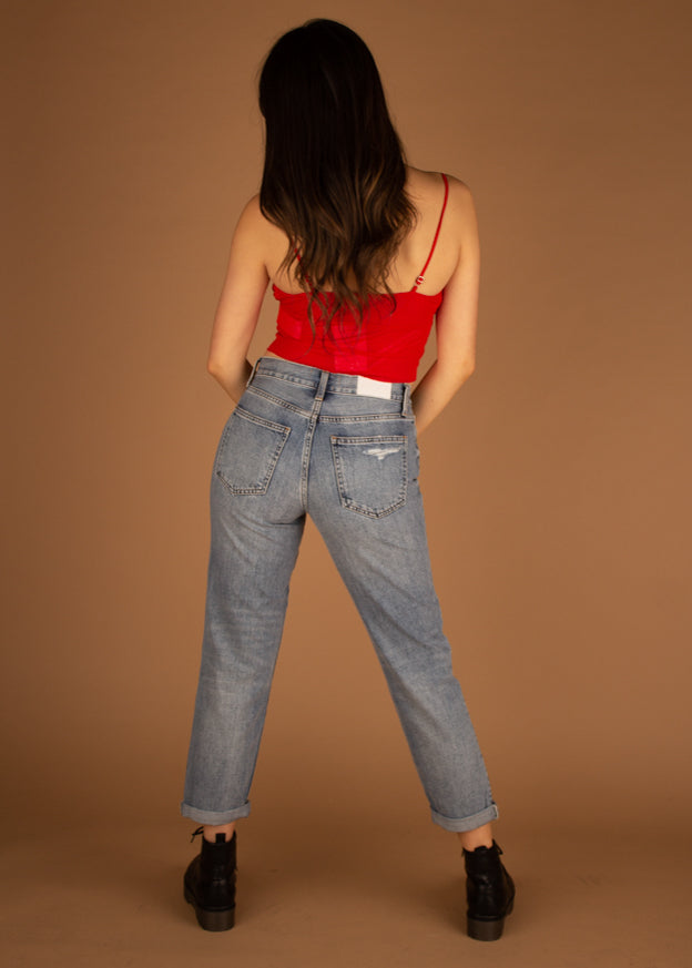 Presley High Rise 90's Jeans - Brazil