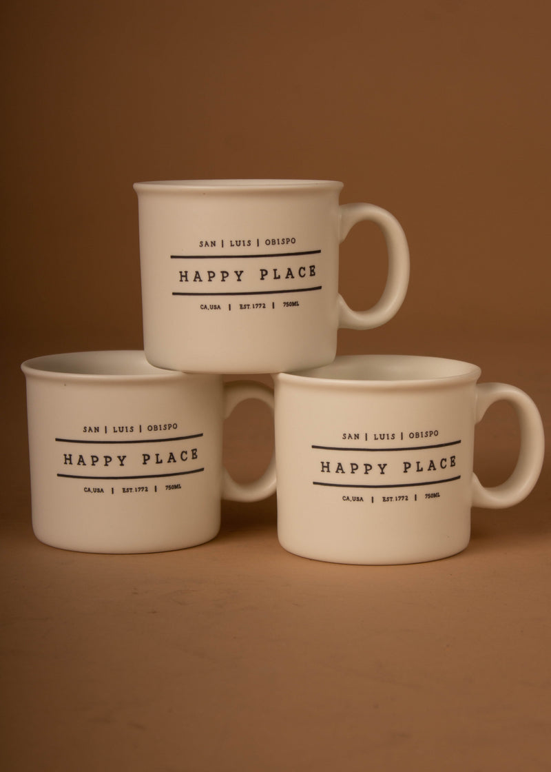 San Luis Obispo Happy Place Mug