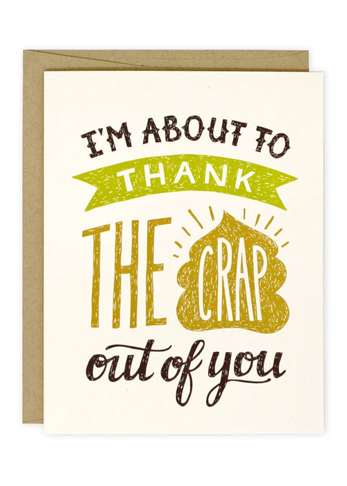 Thank the Crap Card