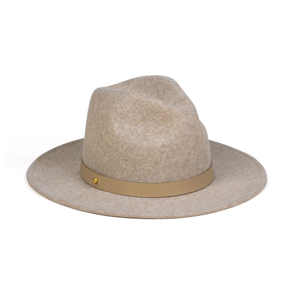 Carlo Mack - Mixed Brown Hat