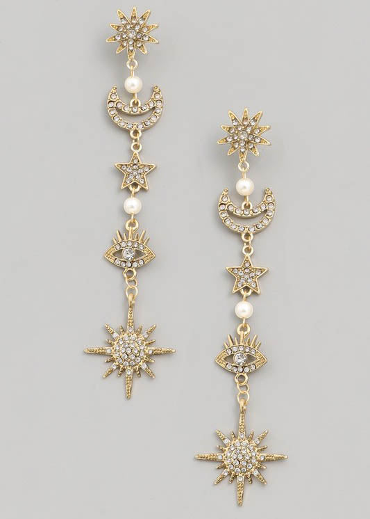 Cordelia Charm Earrings