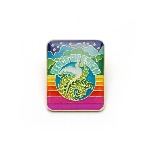 Peace On Earth Enamel Pin
