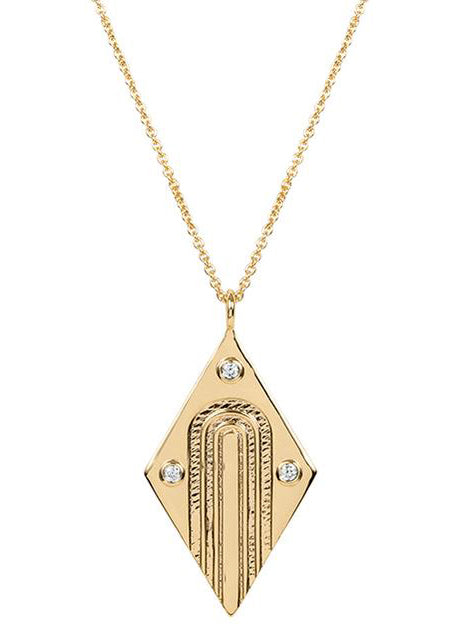 Arc Deco Necklace