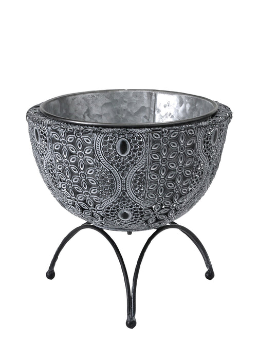 Moroccan Metal Pot Stand