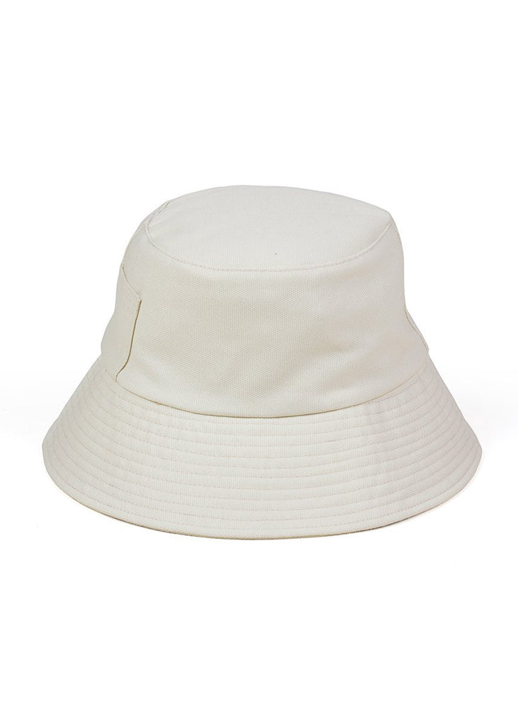 Wave Bucket Hat - Beige