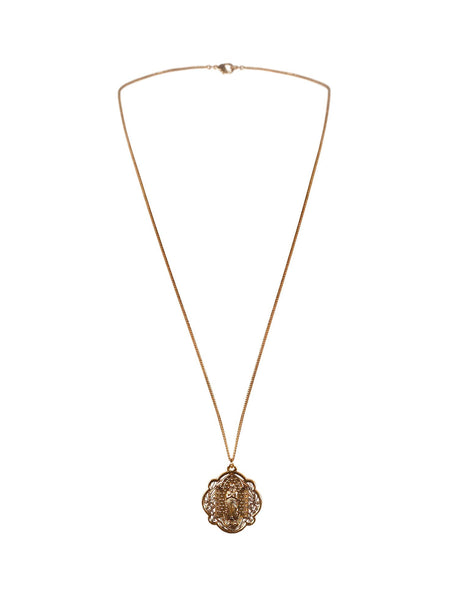 Sinner Medallion Necklace