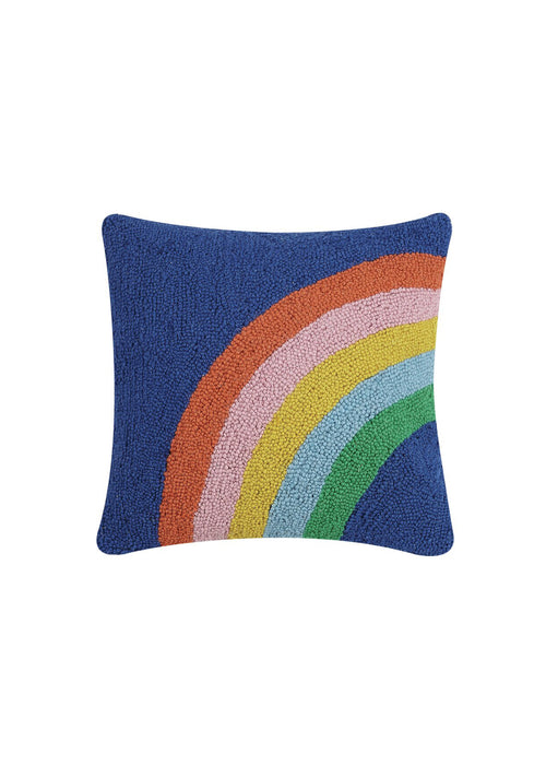 Blue Rainbow Pillow