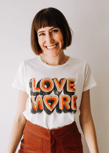 Love More Tee White