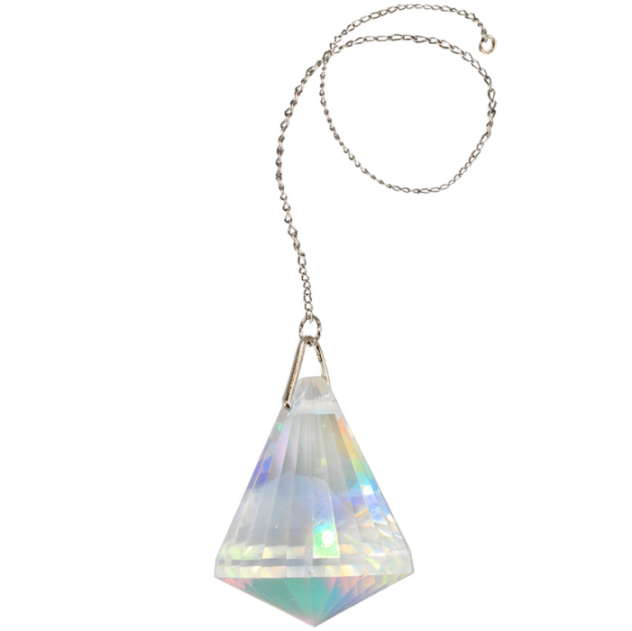 Crystal Faceted Sun Catcher