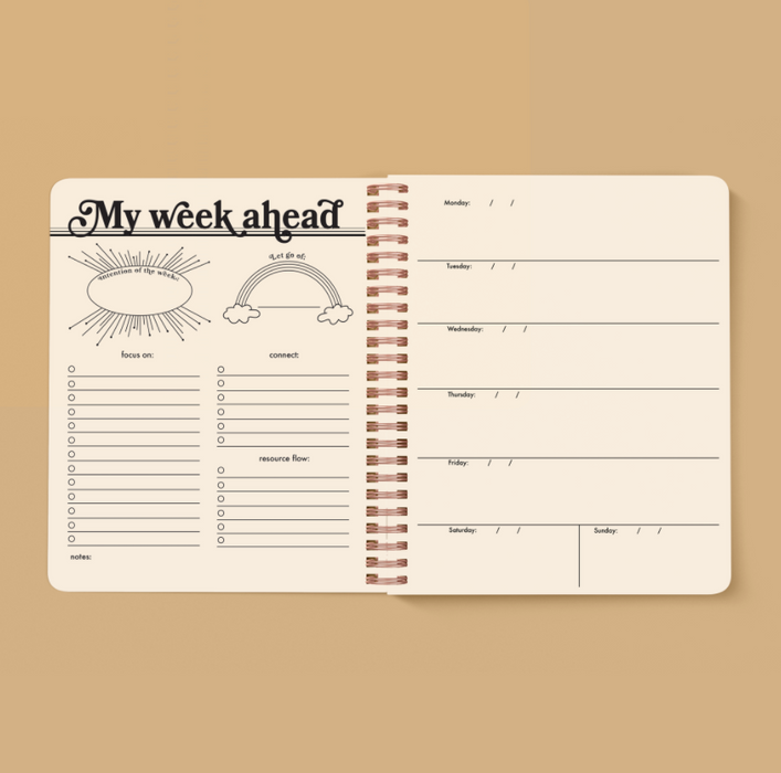 Seeing Eye Open-Dated 12 Month Planner