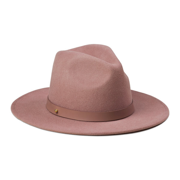 The Fleur Dusty Mauve Hat