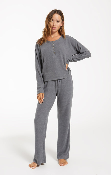 Go With The Flow Pant - Pewter