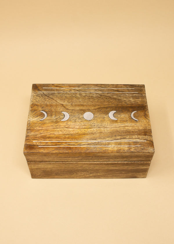 Indukala Jewelry Box Moon Phase