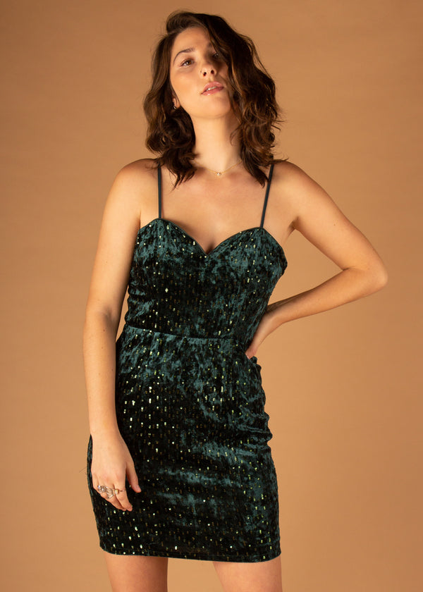 West End Sequin Mini Dress