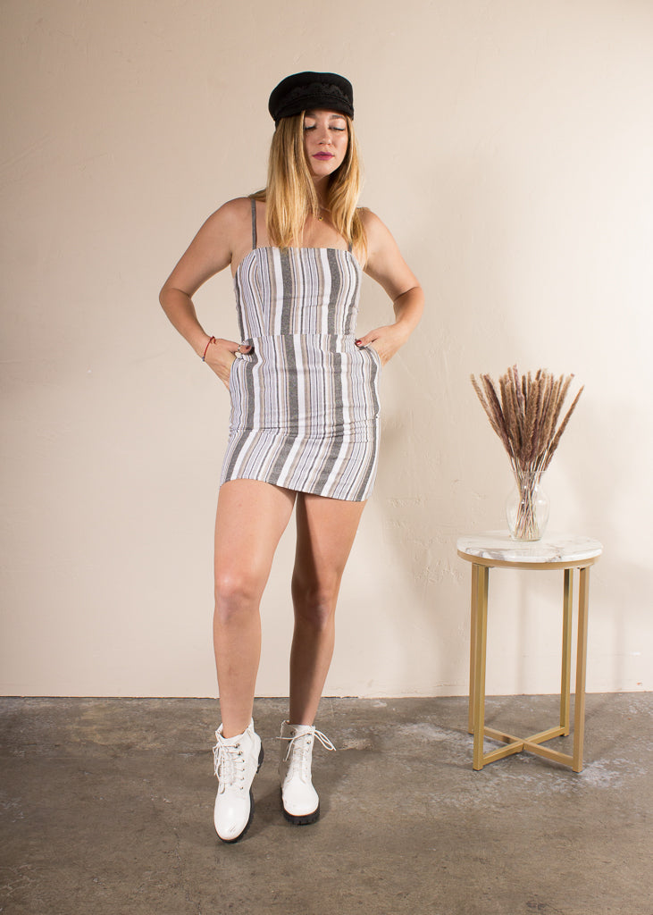 Addilyn Square Neck Mini Dress