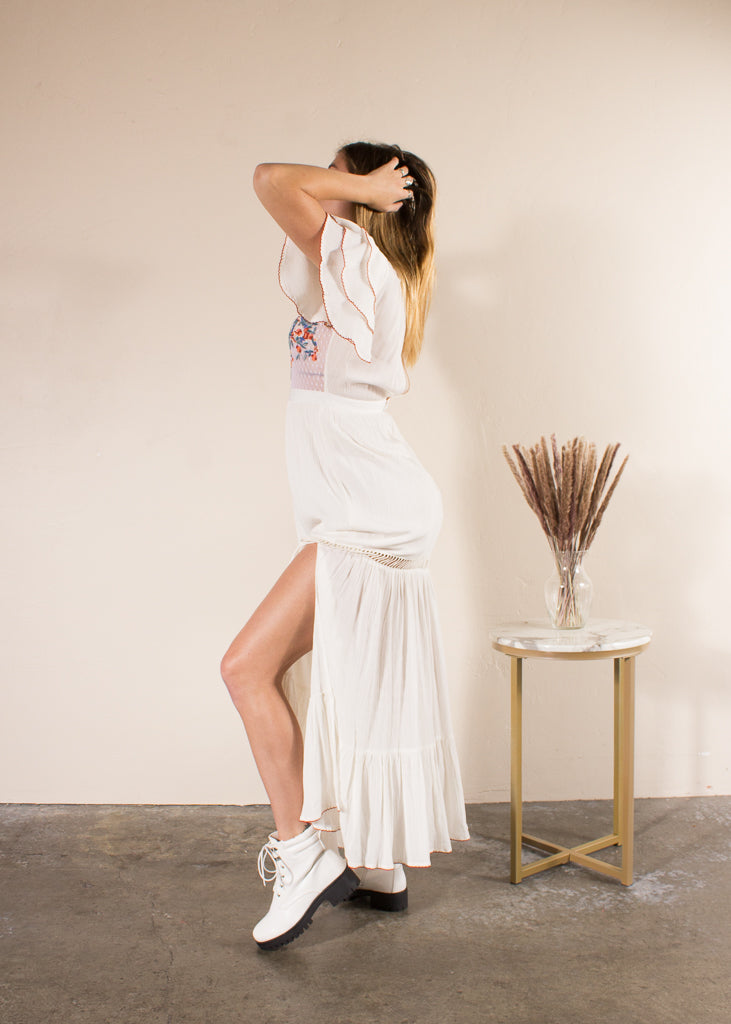 Daphne Dress- Ivory