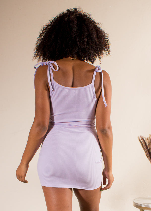 Lavender Lemonade Mini Dress