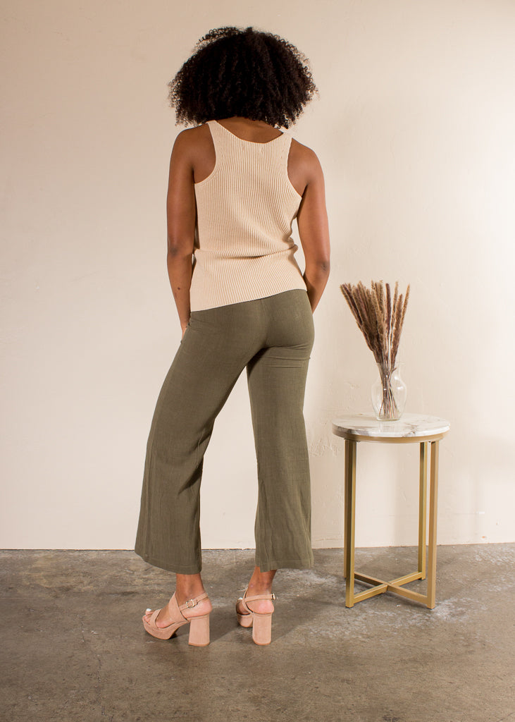 Enyo Button Front Bell Bottoms