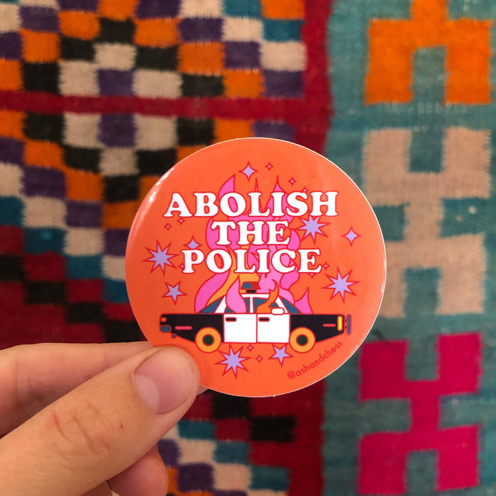 Abolish The Police Sticker