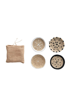 Seagrass Coasters - Set of 4