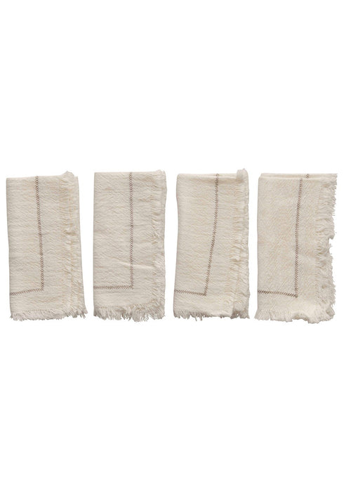 Woven Cotton Napkin - Set of 4