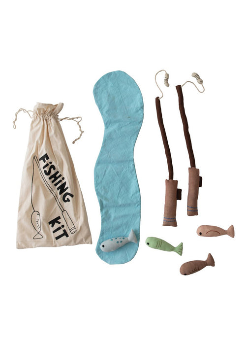 Canvas Plush Fishing Kit