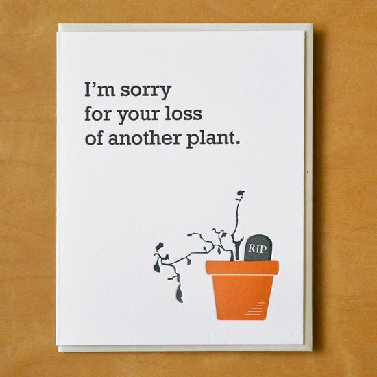 Loss Of Another Plant Card