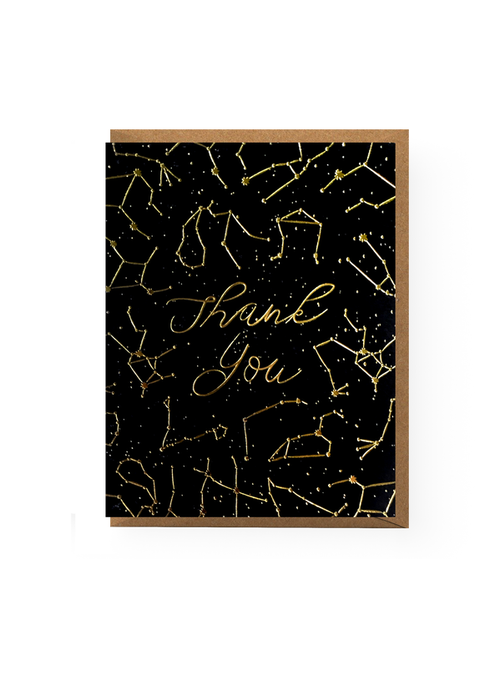 Constellation Thank You Card