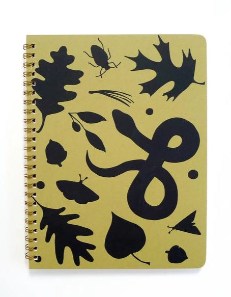 Forest Floor Coil Bound Notebook - Blank