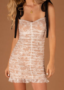 Dolly Mini Dress White Lace