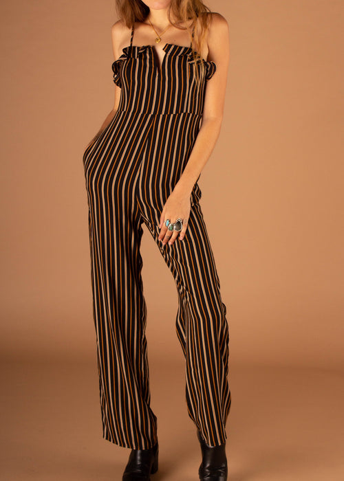 Abby Notch Neck Jumpsuit
