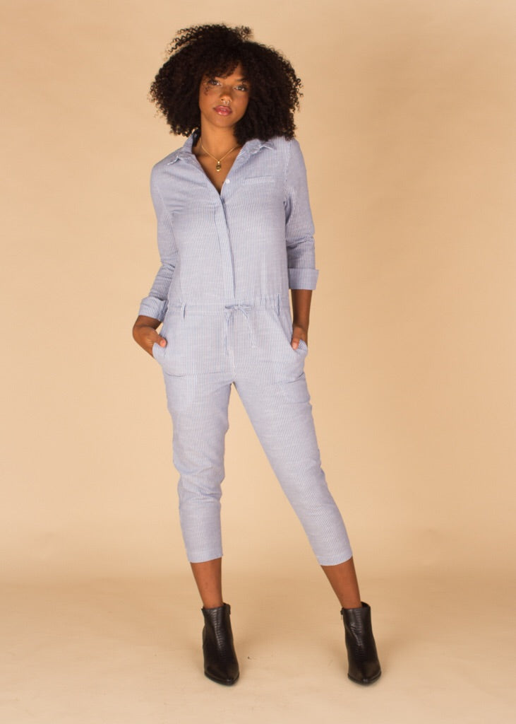 Zinnea Long Sleeve Jumpsuit