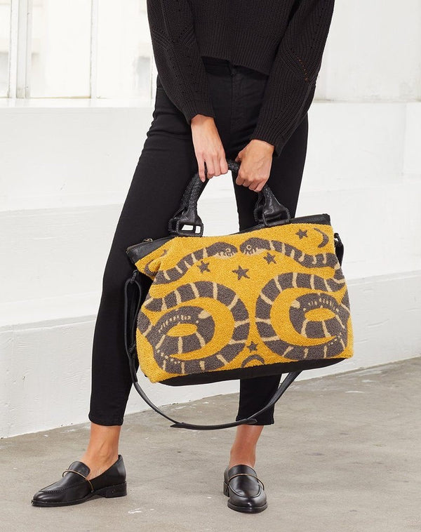 Dree Weekender Bag Yellow
