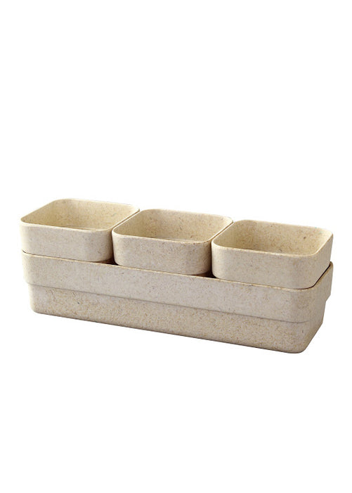 Eco Planter Herb Pot with Tray