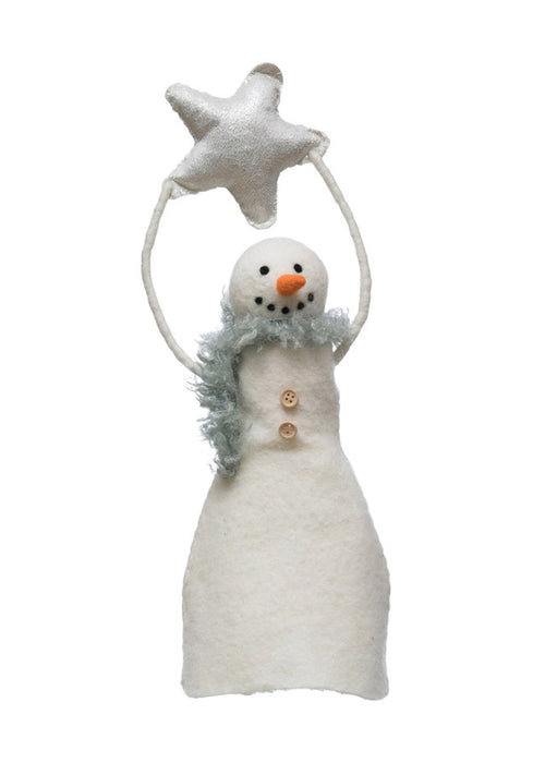 Star Snowman Tree Topper