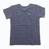 Blue V-Neck - Poetic Kids