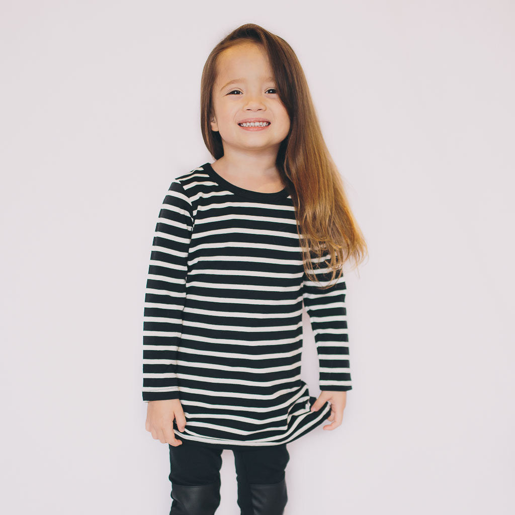 Striped Tunic - Poetic Kids - 2