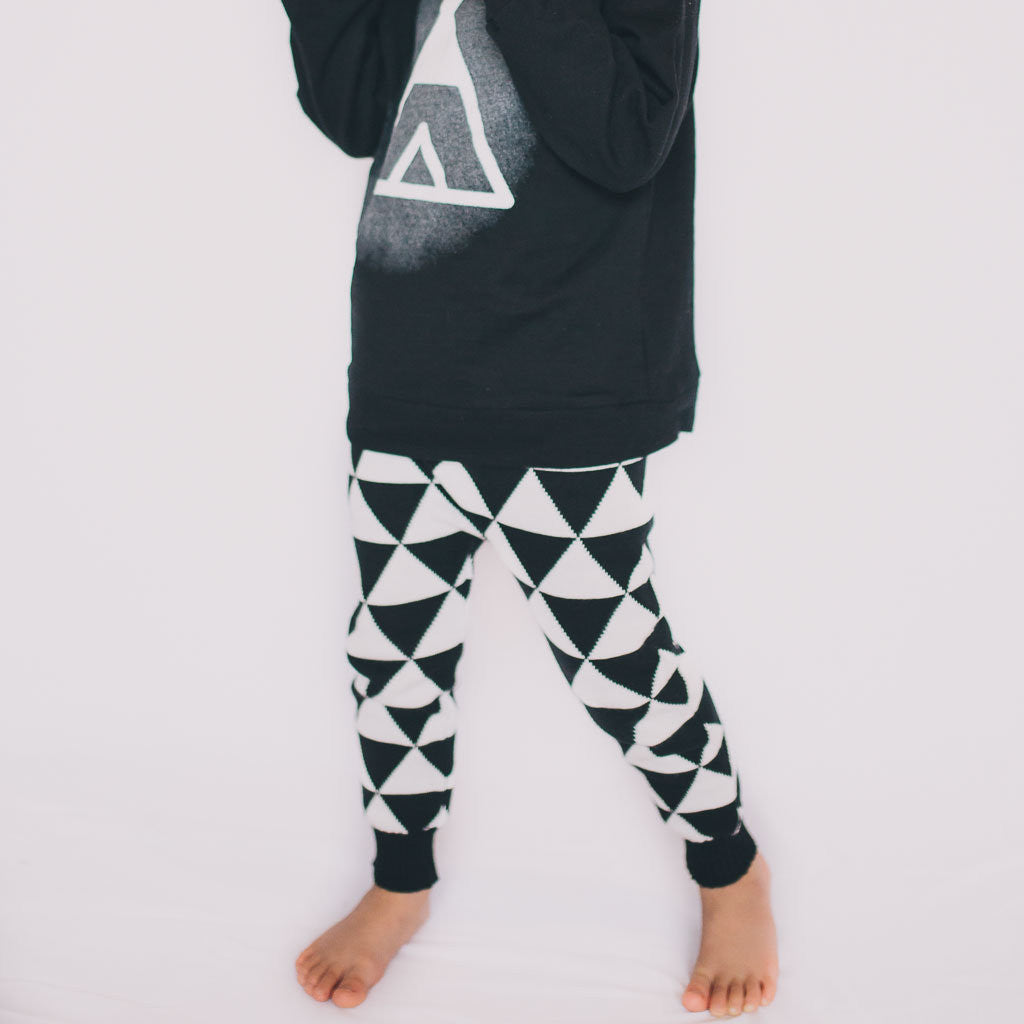 Graphic Knit Pant - Poetic Kids - 2