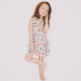 Hearts Patterned Dress - Poetic Kids - 2
