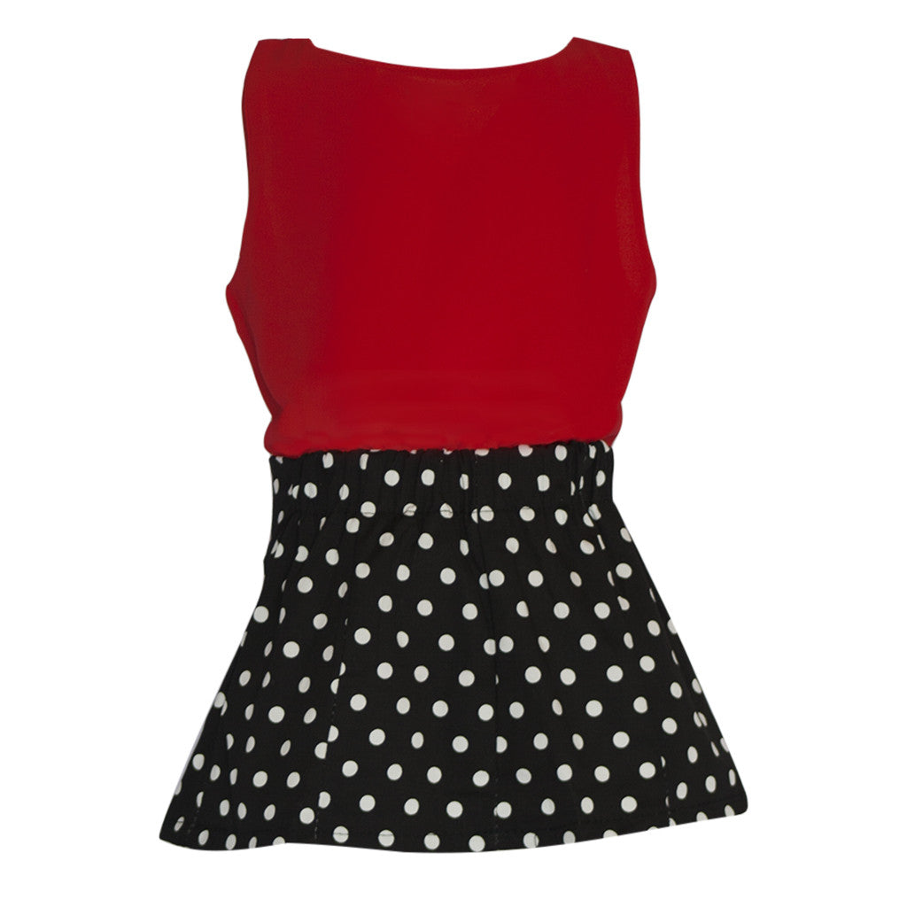 Polka Dot Skirt and Top - Poetic Kids - 3